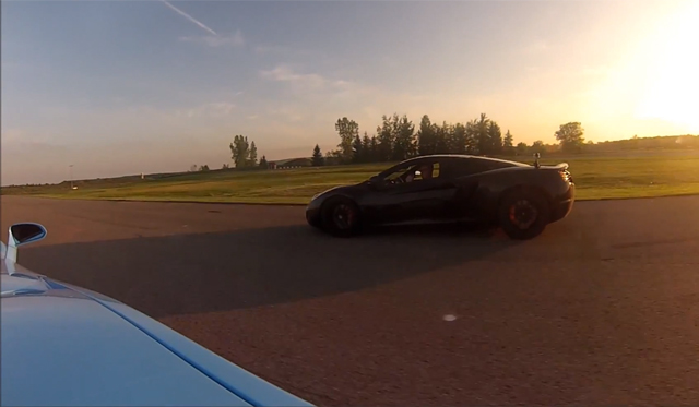 Video: Twin-turbo Lamborghini Gallardo by Heffner vs 2012 McLaren 12C