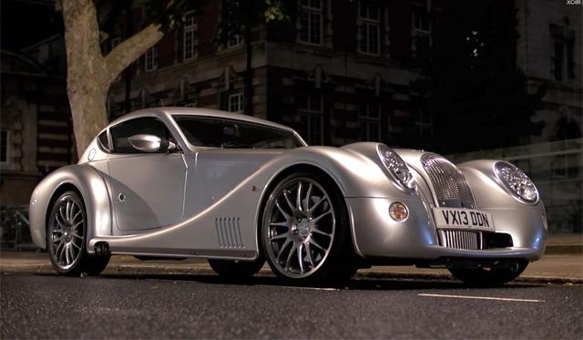 Video: XCAR Drives Morgan Aero Coupe in London