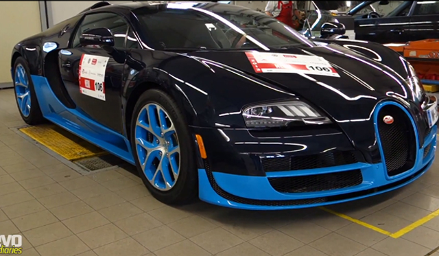 video harry metcalfe drives bugatti veyron grand sport vitesse at mille miglia 2013 gtspirit. Black Bedroom Furniture Sets. Home Design Ideas