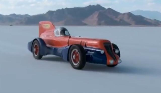 Jay Leno Drives Mormon Meteor III