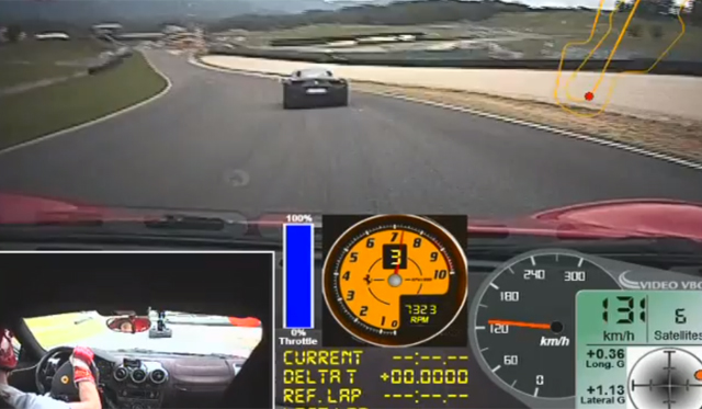 Video: Ferrari 430 Scuderia vs Ferrari 458 Italia at Mugello