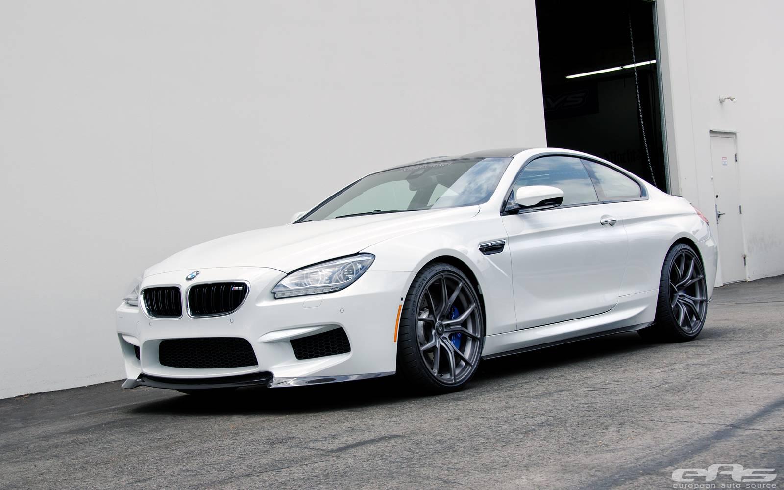 Alpine White Vorsteiner BMW F13 M6 - GTspirit