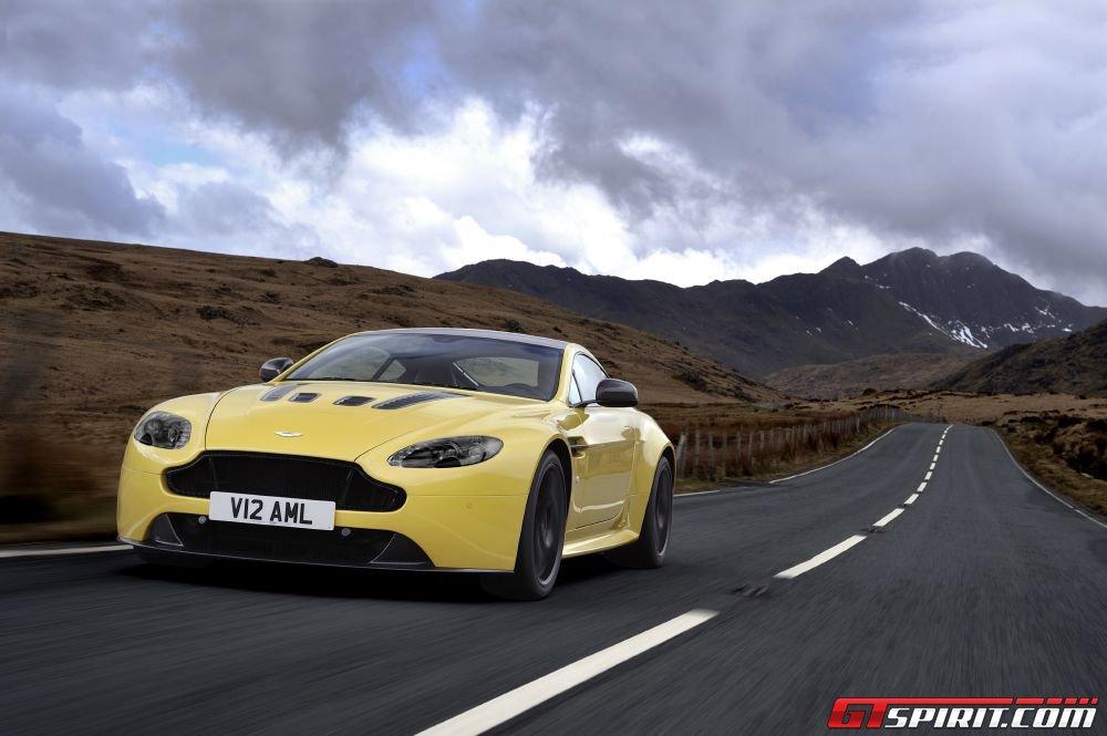 2014 Aston Martin V12 Vantage S Hits 60mph in 3.7 Seconds