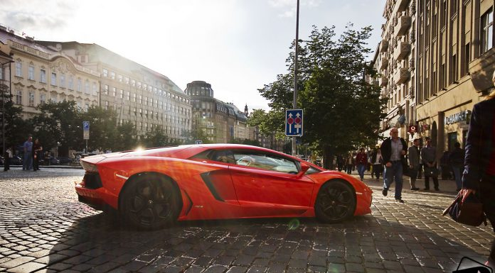 Photo Of The Day: Lamborghini Aventador in Prague by Jordy de Droog