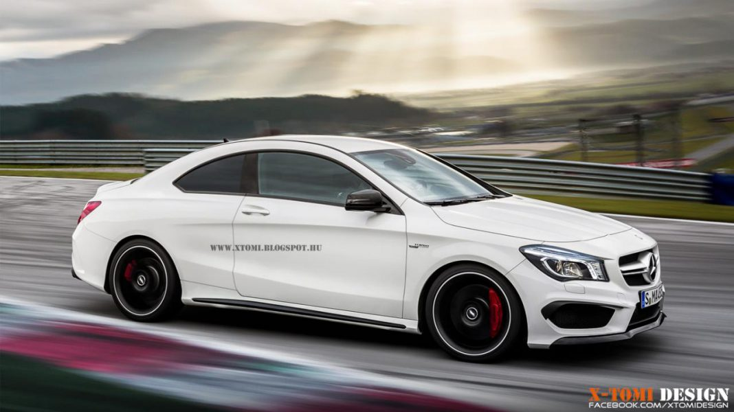 Render: Mercedes-Benz CLA 45 AMG Coupe