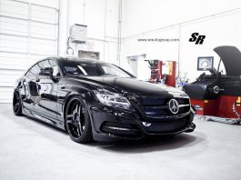 'Sinister' Mercedes-Benz CLS63 AMG by SR Auto Group