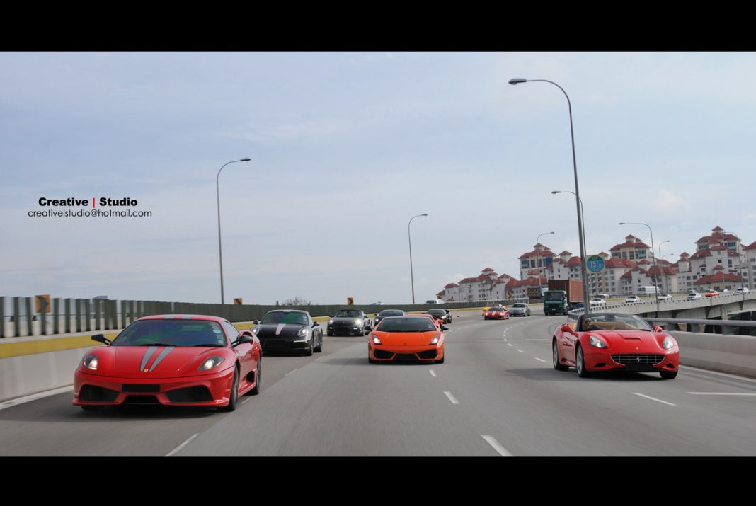 Photo Of The Day: Supercars on Highway by Creative Studio
