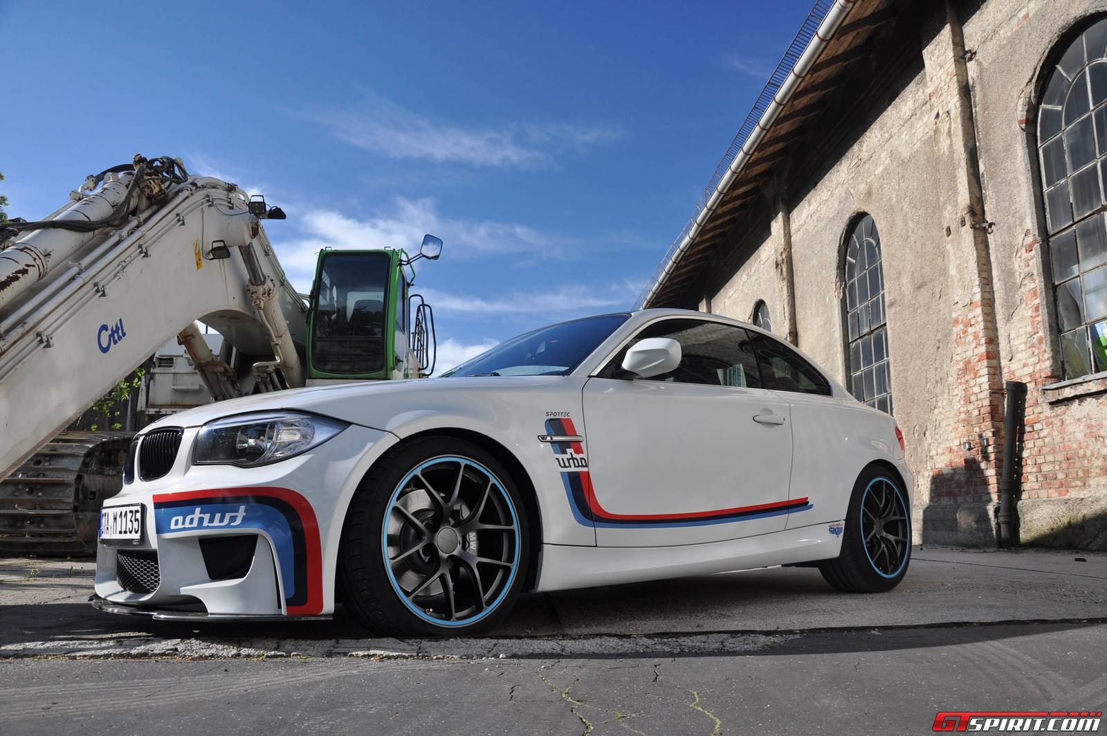 Official Sportec BMW Series M Coupé GTspirit - Bmw 1 series m coupe
