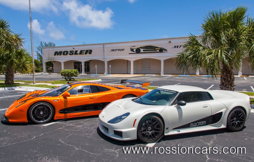 Supercar Manufacturer Rossion Purchases and Merges With Mosler