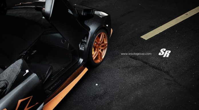 Lamborghini Murcielago LP650-4 Roadster on Rose Gold PUR Wheels
