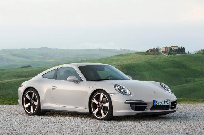 Official: 2014 Porsche 911 50 Years Edition