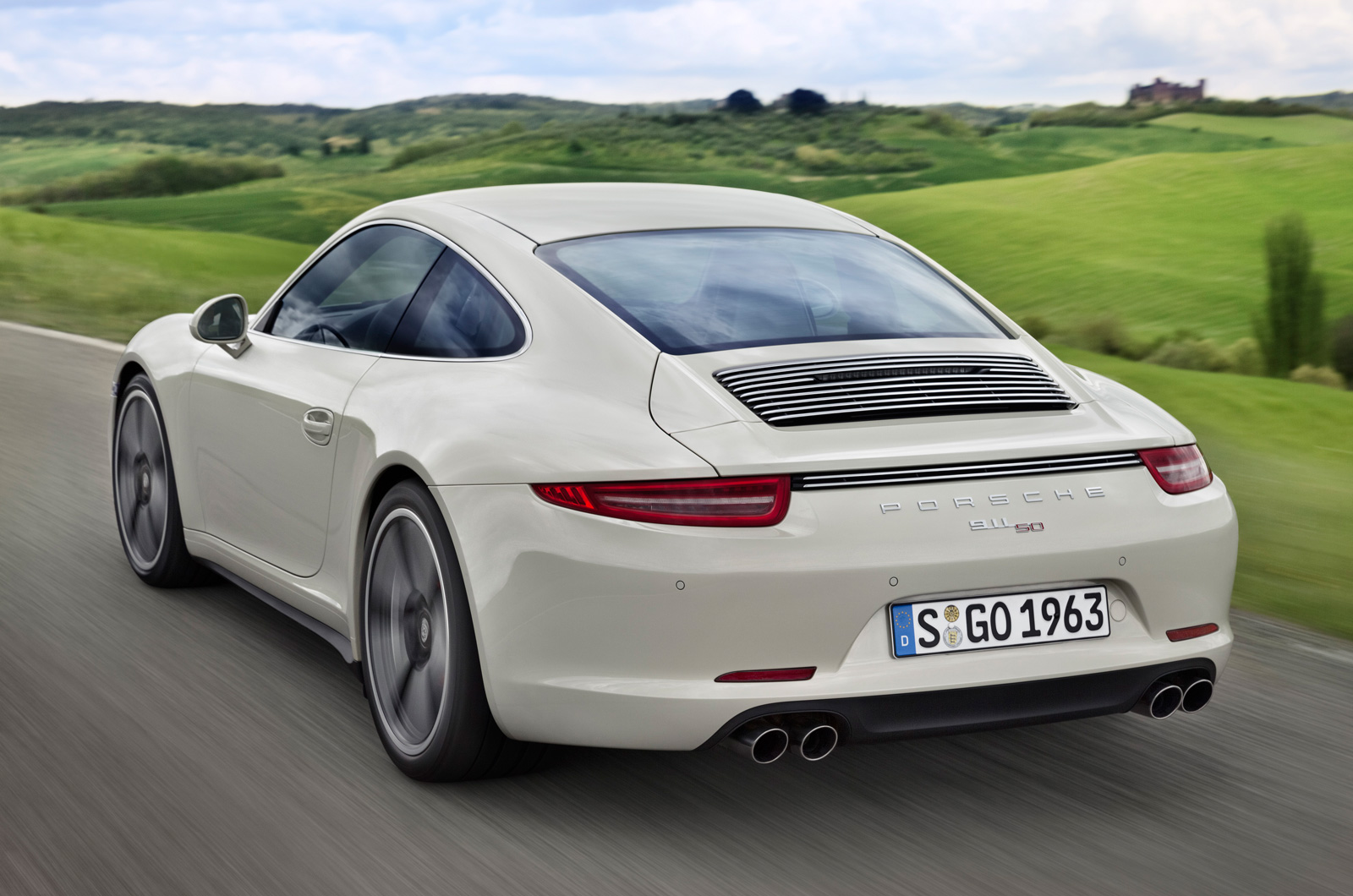 Official: 2014 Porsche 911 50 Years Edition - GTspirit
