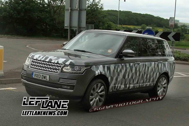 Spyshots: Range Rover Longwheel-base Spotted