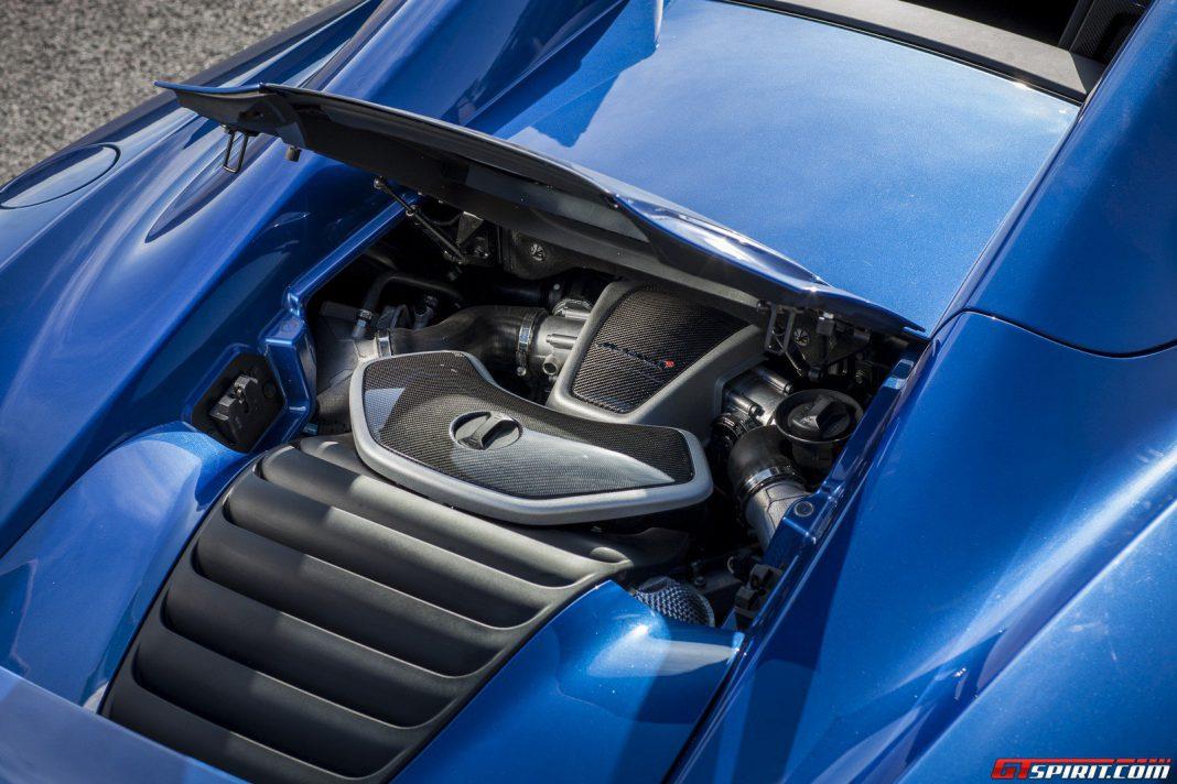 McLaren 12C Spider Engine