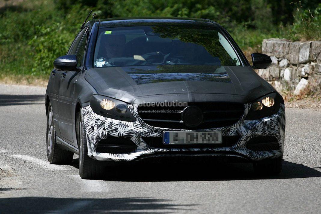 Spyshots: 2015 Mercedes-Benz C-Class