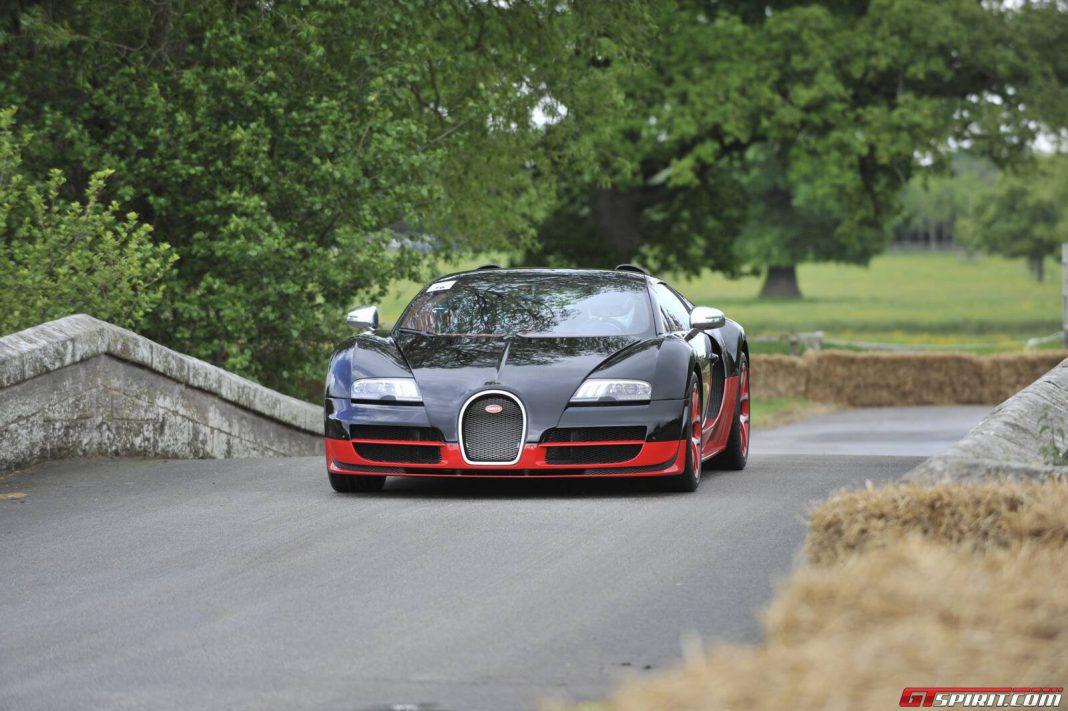 Bugatti Veyron Grand Sport Vitesse at Cholmondeley 2013
