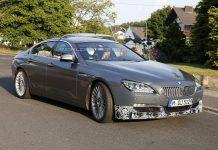 Spyshots: 2014 Alpina B6 GranCoupe BiTurbo