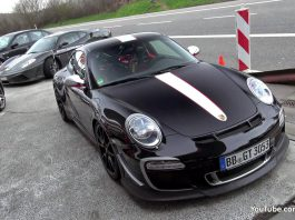Video: Porsche 997.2 911 GT3 RS 4.0 at the 'Ring