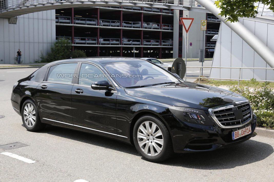 Spyshots: 2014 Mercedes-Benz S-Class Pullman
