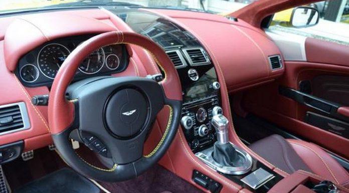 For Sale: Unique Yellow Aston Martin DBS