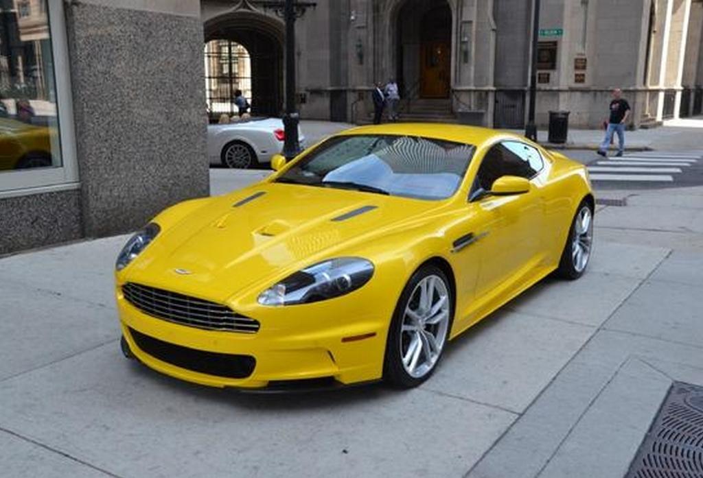 For Sale Unique Yellow Aston Martin Dbs Gtspirit