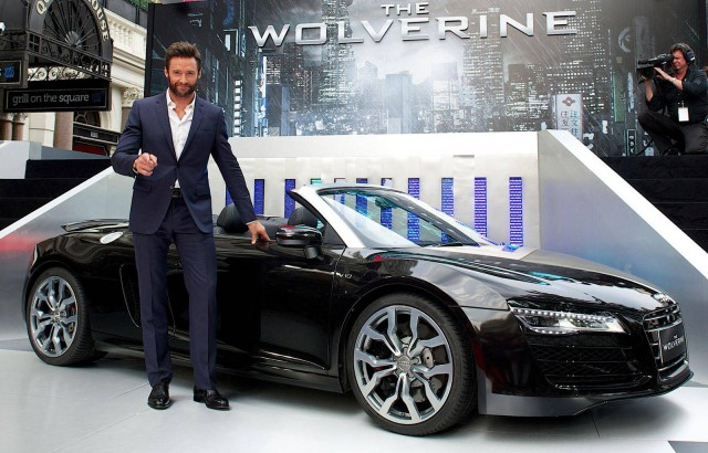 2014 Audi R8 Spyder Makes Film Debut in The Wolverine