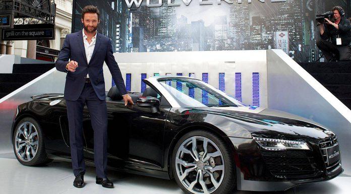 2014 Audi R8 Spyder Makes Film Debut in The Wolverine