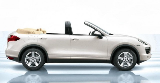 Official: Porsche Cayenne Convertible by Newport Convertible Engineering