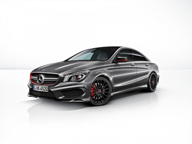 Official: 2014 Mercedes-Benz CLA 45 AMG Edition 1