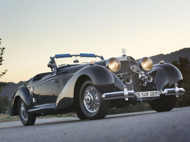 1939 Mercedes-Benz 540K Special Roadster by Sindelfingen
