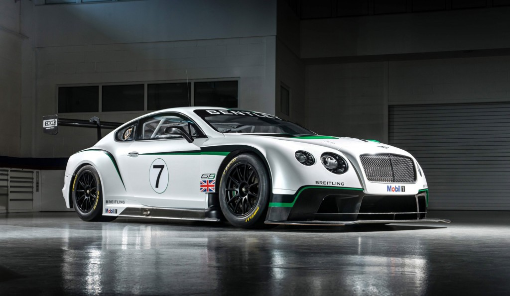 Official: 2014 Bentley Continental GT3