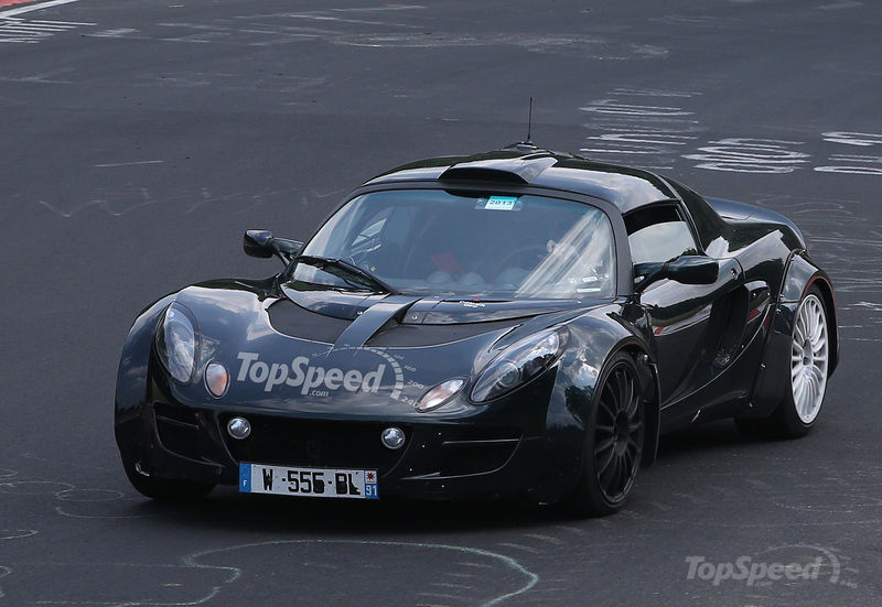 Spyshots: 2015 Renault-Alpine Sports car Snapped at the 'Ring