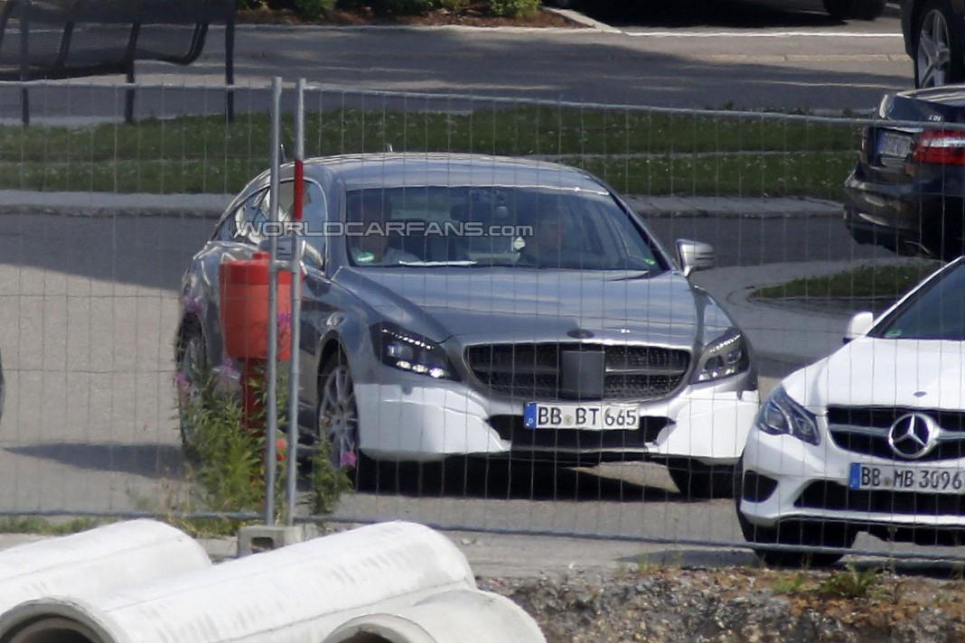 Spyshots: 2015 Mercedes-Benz CLS Shooting Brake