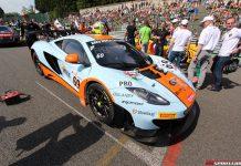 McLaren at Spa 2013