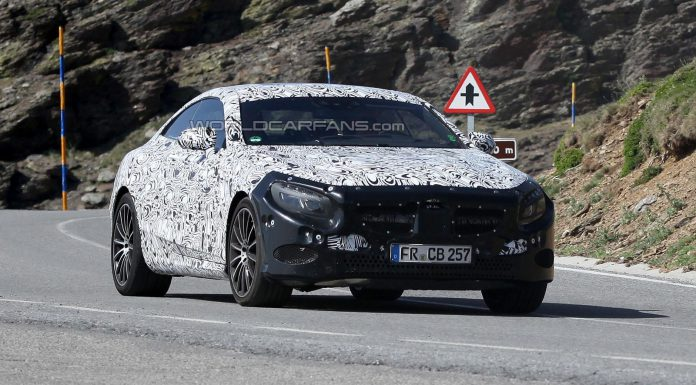 Spyshots: 2014 Mercedes-Benz S-Class Coupe High-Altitude Testing