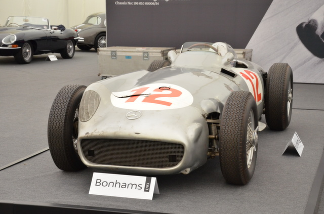 Fangio's Mercedes-Benz W196 Could Fetch £10 Million at Goodwood