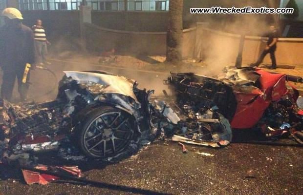 Car Crash: Horrible Ferrari 599 Crash in the Dominican Republic