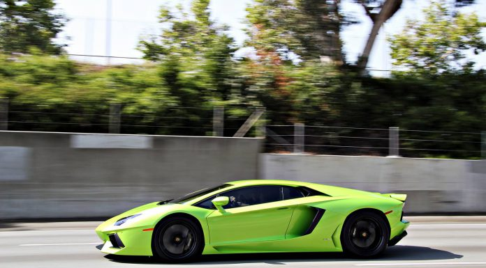 Photo Of The Day: Verde Ithaca Lamborghini Aventador by Charlie Davis Photography