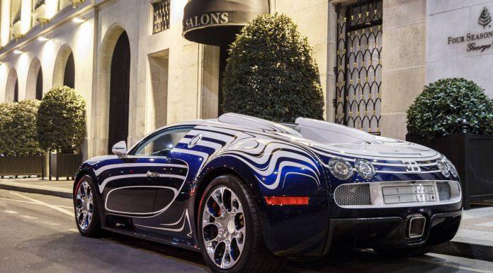 Gallery: Bugatti Veyron L'Or Blanc in Paris by Arthur H. Photography