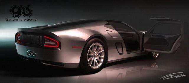 Galpin Auto Sports Ford GTR-1 Heading to Pebble Beach 2013