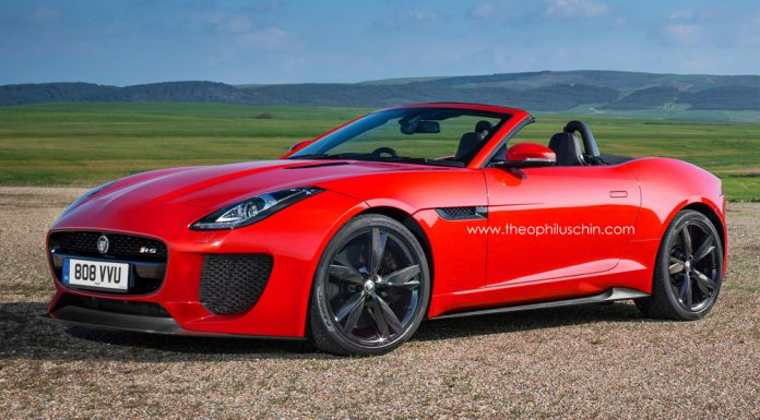 Render: 2015 Jaguar F-Type RS by Theophilus Chin