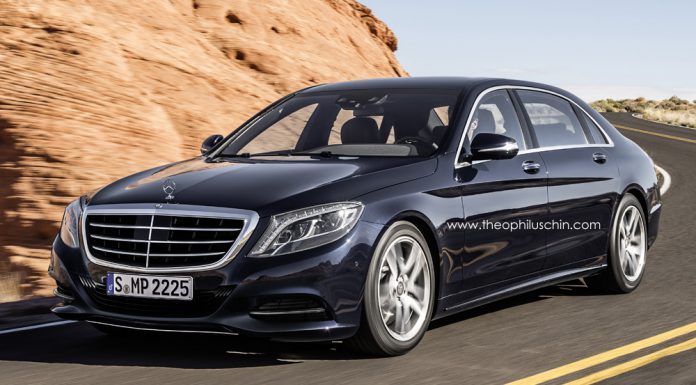 Render: 2014 Mercedes-Benz S-Class Pullman by Theophilus Chin