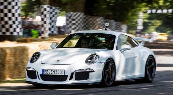 Video: 2014 Porsche 911 GT3 at Goodwood 2013