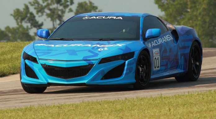 2015 Acura NSX Previewed on Track