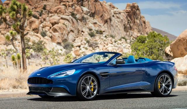 Aston Martin Announces Line-up for Pebble Beach Concours d'Elegance 2013