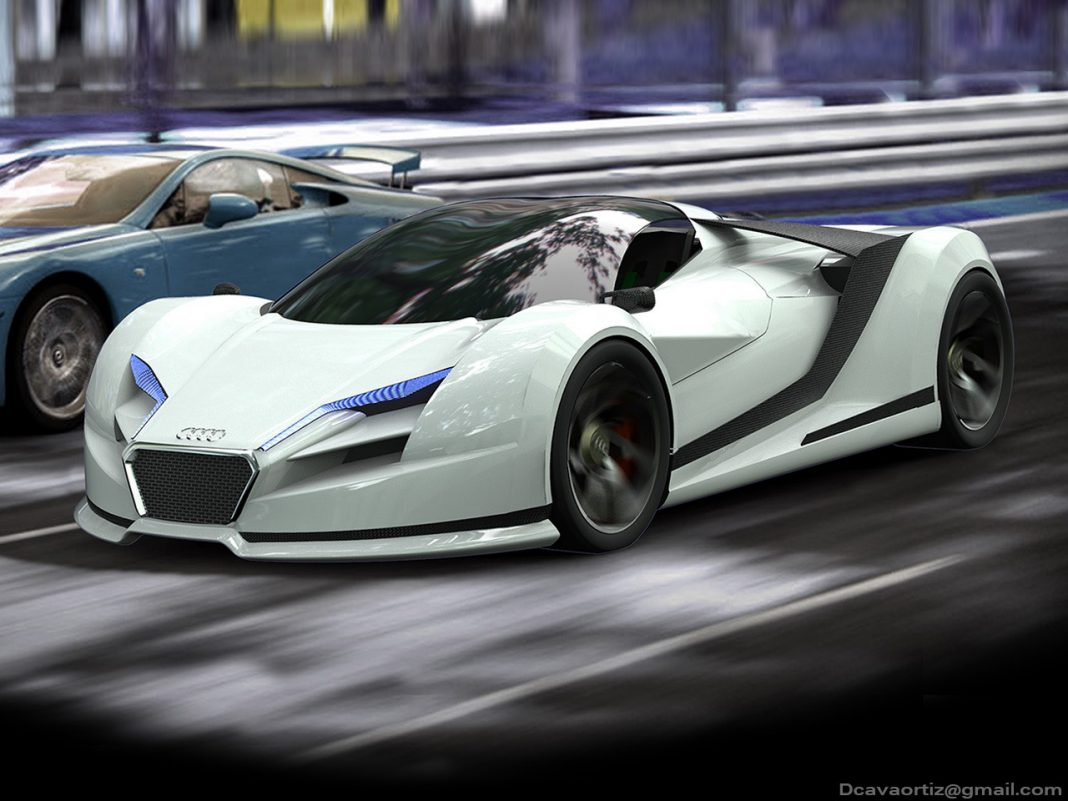 Render: Audi R10 Concept by David Cava