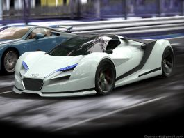 Render: Audi R10 Concept by David Cava