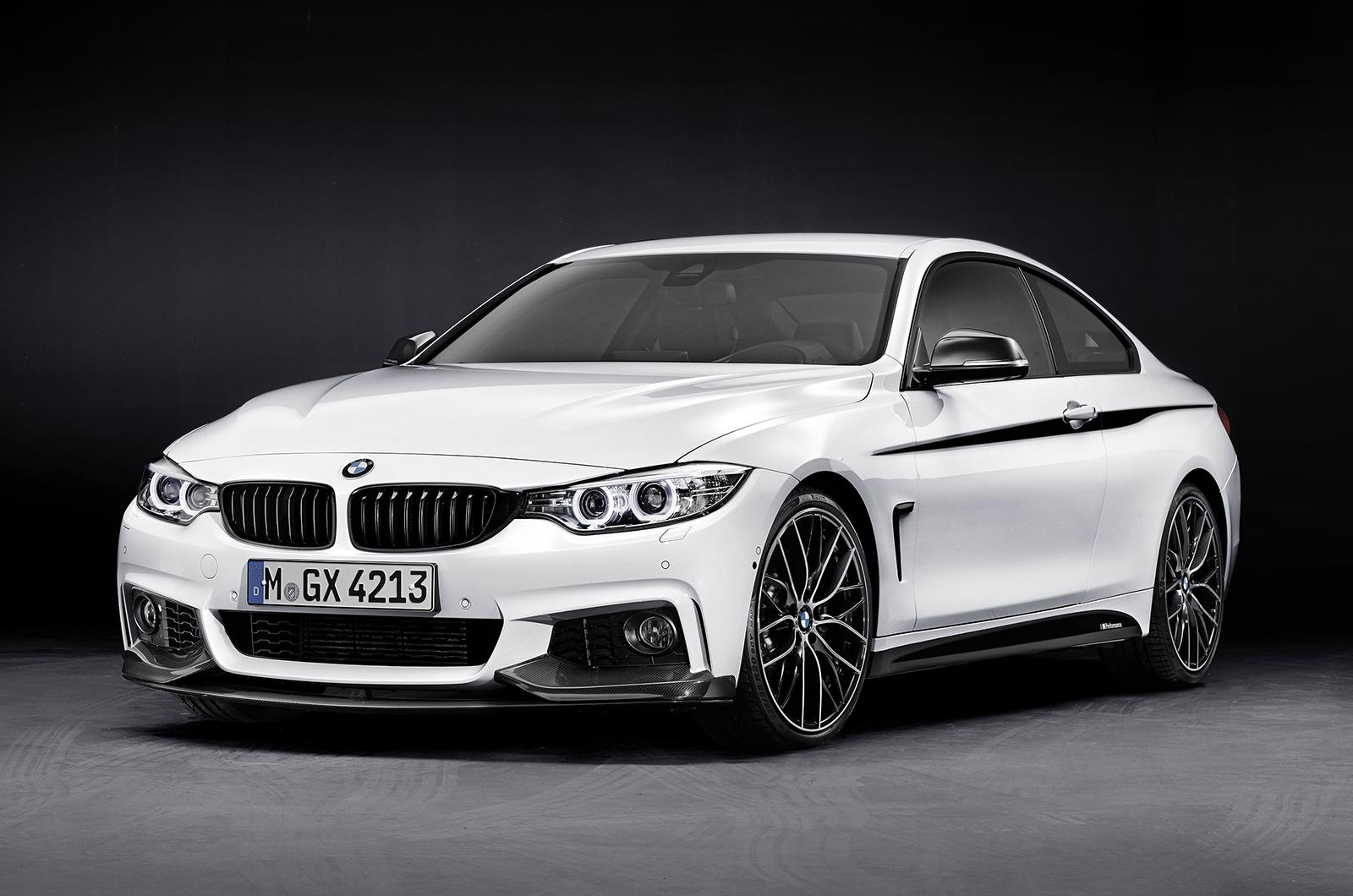 ... revealed a 4-series coupe fitted with M-Performance parts