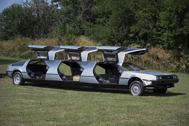 Delorean Collector Creates Monster Truck And Limo Based On The Dmc 12 Gtspirit