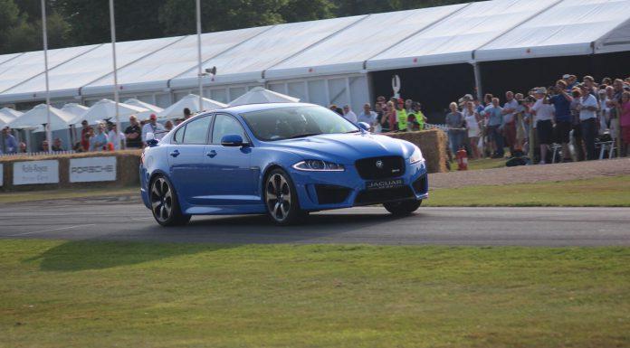 Jaguar XFRS at Goodwood 2013